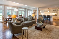 Classic Transformation - traditional - living room - new york