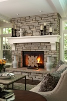 Casa Verde Design - traditional - living room - minneapolis