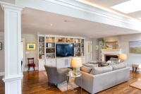 Classic Transformation - traditional - family room - new york