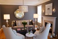 Heather Garrett Design - contemporary - living room - raleigh