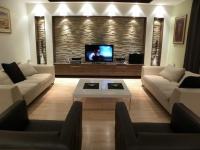 residence space in Podgorica - modern - living room - other metro