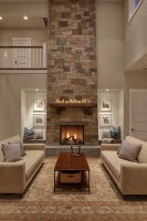 Woodinville Retreat - contemporary - living room - seattle