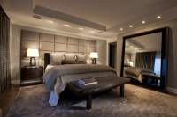 Lincoln Park West Master Bed A - contemporary - bedroom - chicago