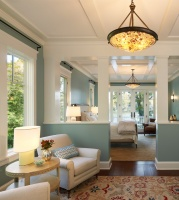 Lakeside Family Cottage - traditional - bedroom - dc metro