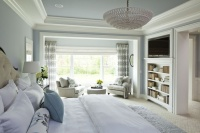 Parkwood Road Residence Master Bedroom - contemporary - bedroom - minneapolis