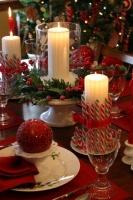 Christmas Around the House - traditional - dining room - kansas city