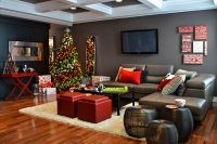 Homes for the Holidays 2012- Edmonton - contemporary - living room - edmonton