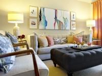 Eclectic Living Rooms  Domicile Interior Design : Designer Portfolio