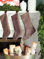 Simple Brown Stockings