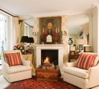 ANTHONY AND VALERIE EVANS'S LONDON FLAT