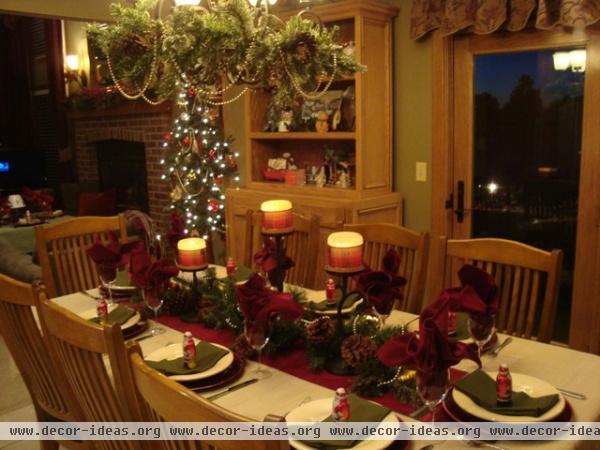 Franktown Ranch - traditional - dining room - denver