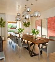 Camino Santander, Santa Fe Residence - modern - dining room -