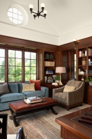 Edina Home Office - traditional - home office - minneapolis