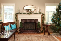 Linden Hills Farmhouse - traditional - living room - minneapolis