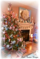 A Cozy Cottage Christmas -  - living room - raleigh
