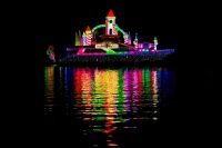Christmas Boat Parade with LED lighting -  -  -