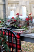 Winter Tablescape -  -  - kansas city