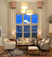M/I Homes of Chicago: Sheffield Square Grant Park - Dearborn Model - contemporary - living room - chicago