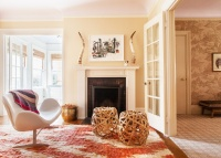 Eclectic Traditional Living Room