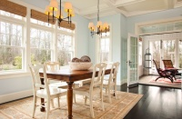 West Coast Hampton - traditional - living room - portland