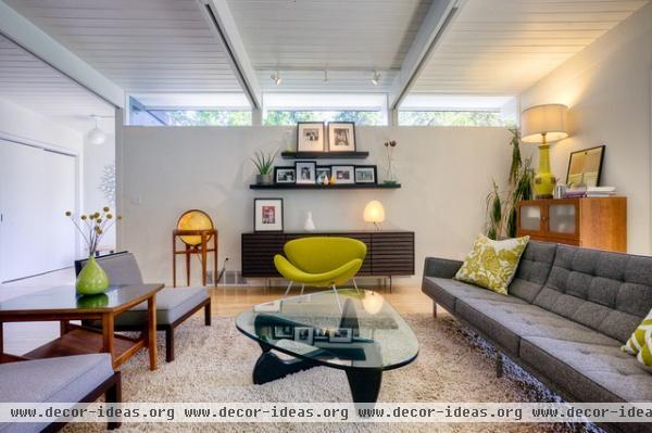 Laurelhurst House - modern - living room - seattle