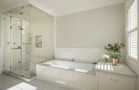 Light & Classic - traditional - bathroom - san francisco