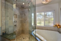 Leahy Interior Design - contemporary - bathroom - san diego