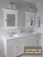 $7.00SF Carrara Subway Tile Marble 3x6' - traditional - bathroom - atlanta