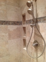 Our Showers - traditional - bathroom - nashville