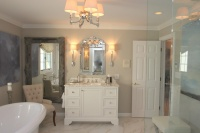 Master Suite - traditional - bathroom - baltimore
