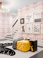 Fawn Galli Interior Design, Holiday House Hamptons - contemporary - bedroom - new york