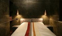 Medieval theme appartment - eclectic - bedroom - other metro