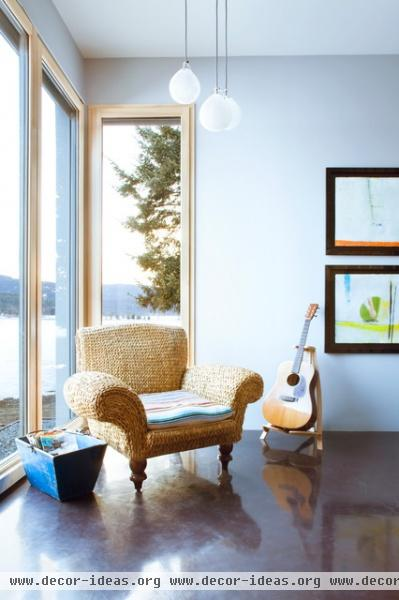 Energy Efficiency Model Home - contemporary - living room - other metro