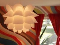 White Modern Pendant Light in Kids Bedroom : Designers' Portfolio