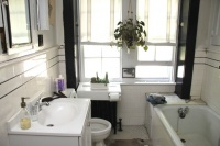 Room of the Day: Clean and Simple Master Bath With Lots of Storage