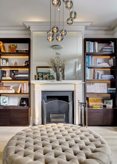 Houzz Tour: Luxe Materials and Glass Give an Old House New Life